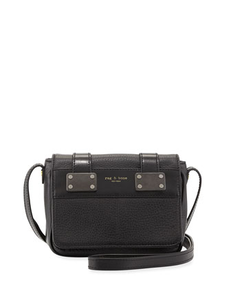 Pilot Mini Crossbody Bag, Black