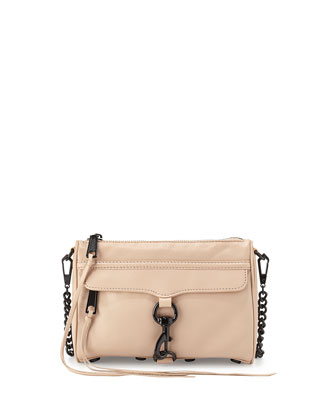 Mini MAC Crossbody Bag, Latte