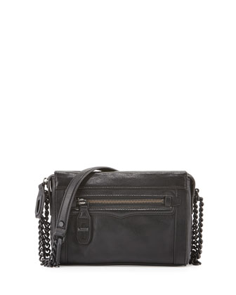 Crosby Turn-Lock Crossbody Bag, Black