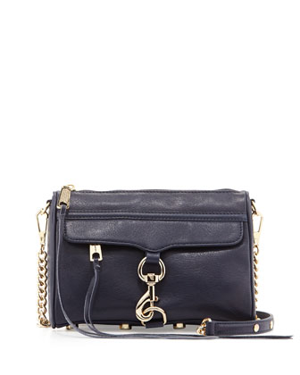 Mini MAC Crossbody Bag, Ink