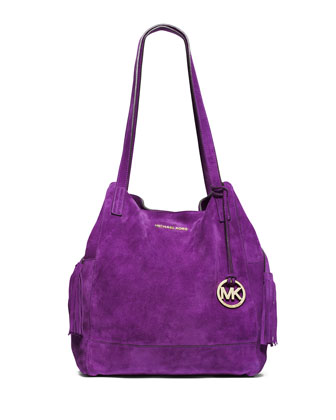 Extra Large Ashbury Grab Bag, Violet