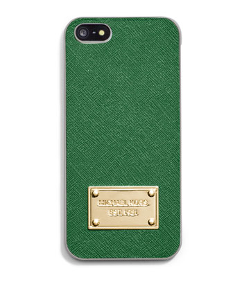 Electronics Saffiano Phone Cover, Gooseberry