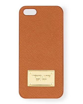Logo Plate iPhone 5 Case, Luggage