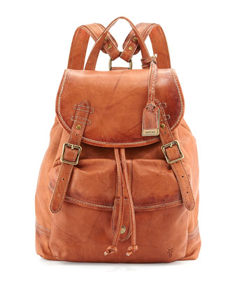 Campus Dakota Leather Backpack