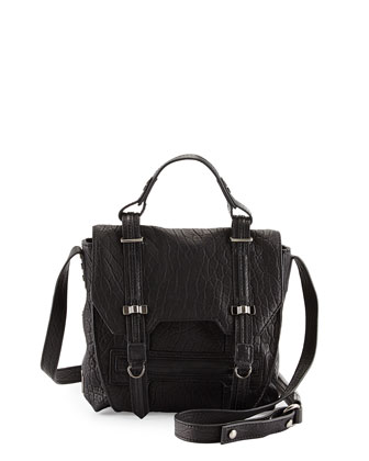 James Mini Crossbody Bag, Black