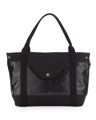Wild Thing Tote, Black