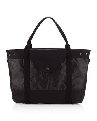 Wild Thing II Tote, Black