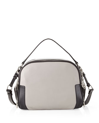 Jana Convertible Bag, Black/Gray