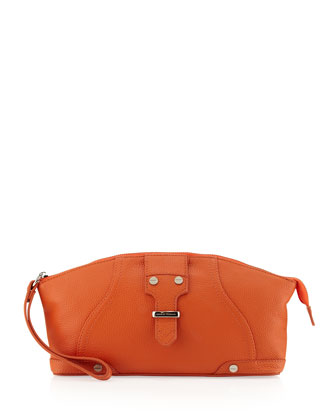 Jordan Dome Belt Clutch, Orange