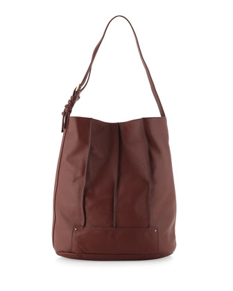 Gowanas Seamed Bucket Hobo, Rust