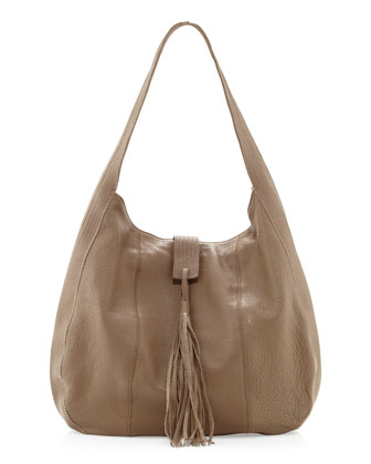 Brooklyn Hobo Bag, Mocha