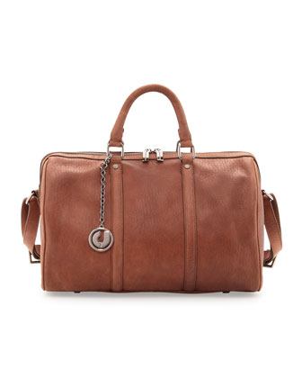 Sierra 3 Leather Satchel, Brown