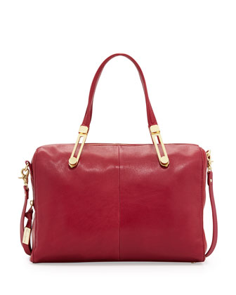 Slider Satchel Bag, Lobster