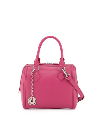 Jackson II Mini Satchel Bag, Pink