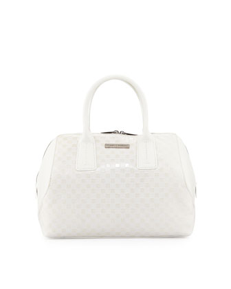 Kamea Speedy Satchel Bag, White