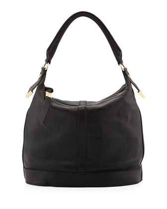 Jet Set Zip Bucket Tote Bag, Black