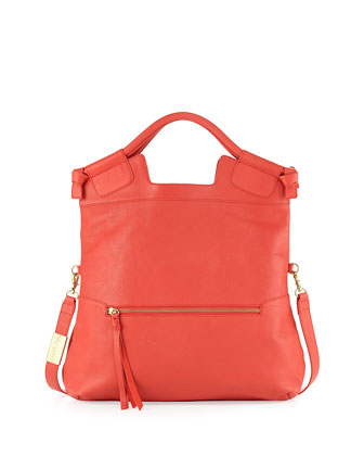 Mid City Patent Leather Tote, Anguria