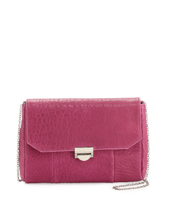 Mini Marlow Lambskin Crossbody, Butter