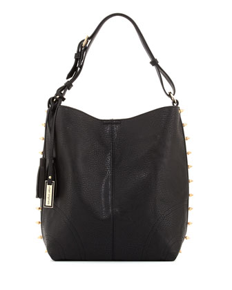 Avoca Spike Studded Tote Bag, Black