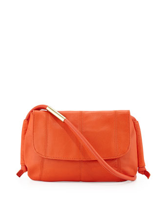 Southside Leather Hobo Bag, Hyacinth