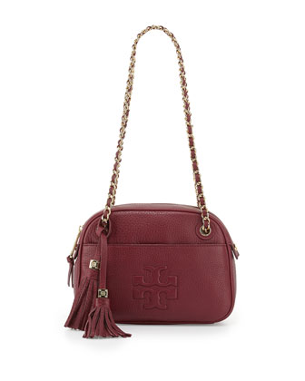 Thea Chain-Strap Crossbody Bag, Cabernet