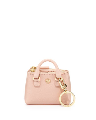 Robinson Double-Zip Key Tote, Indian Rose