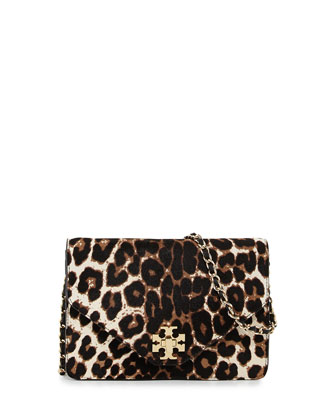 Kira Crossbody Bag, Snow Leopard