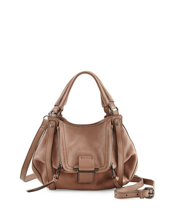 Jonnie Mini Crossbody Bag, Stone