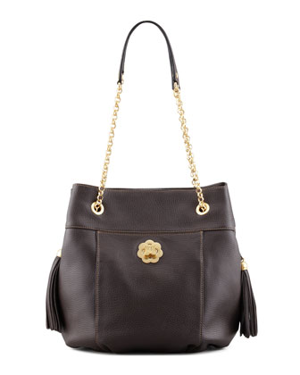 Tina Shoulder Bag, Chocolate