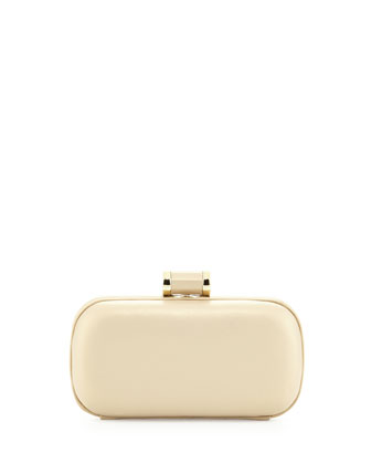 Oblong Minaudiere, Pale Gold