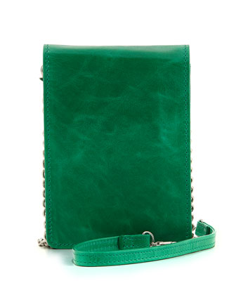 Amity Box Crossbody Bag, Peacock
