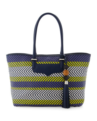 Perfection Tribal Woven Tote