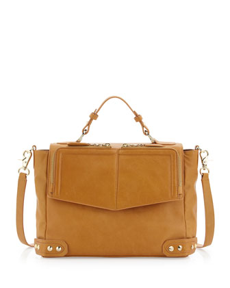 Rosie Page Messenger Bag, Camel