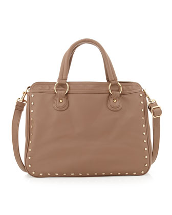 Star Gazer Tote Bag, Taupe