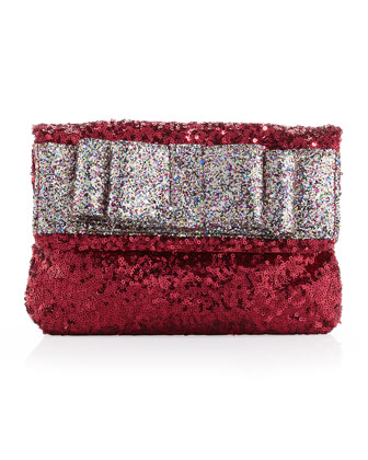 Sugarland Magic Sequined Clutch, Magic Dust