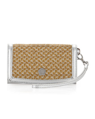 EJ Phone Wristlet, Natural Frost