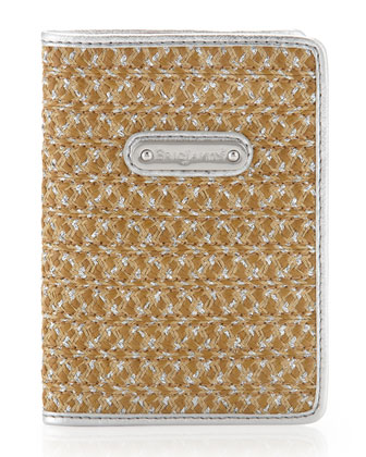 EJ Passport Cover, Natural Frost