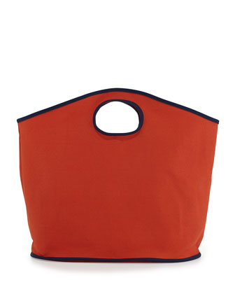 Classic Canvas Large Grab Bag, ORange