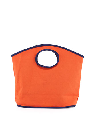 Classic Canvas Mini Grab Bag, Orange