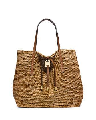 Miranda Large Novelty Tote Bag, Luggage
