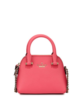 cedar street mini maise crossbody bag, cabaret pink