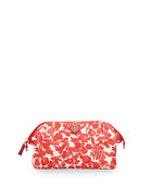 Printed Large Molded Cosmetic Bag, Issy