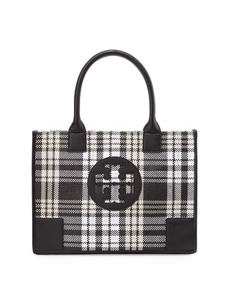 Ella Mini Plaid Tote