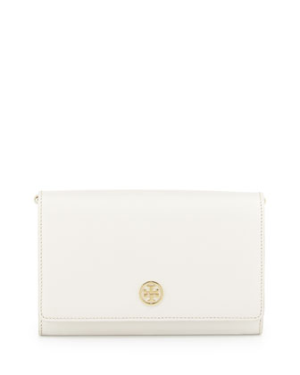 Robinson Chain-Strap Wallet Bag, Birch