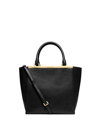 Lana Medium Tote Bag, Black