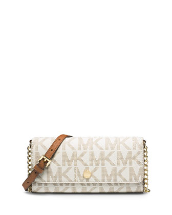 Jet Set MK Travel Wallet-on-Chain, Vanilla