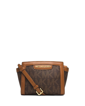 Selma Mini Messenger Bag, Brown