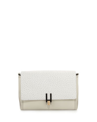Inez Convertible Clutch Bag, Eggshell