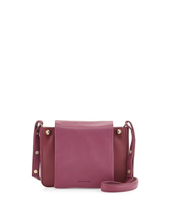 Bijou Mini Crossbody Bag, Raspberry