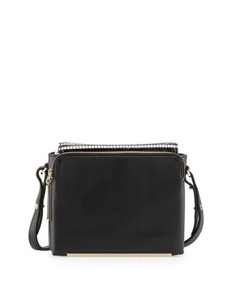 Provence Mini Crossbody Bag, Black